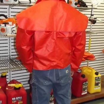 Back of Rain Coat