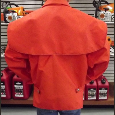 Orange or Black Cordura Rain Coat