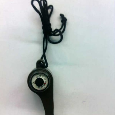 Safety Whistle and Compass