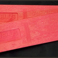Wells Pink Falling Wedge