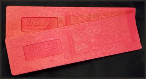 Wells Pink Falling Wedge